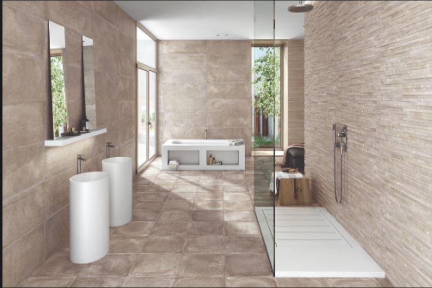 Carrelage salle de bain Azulev modèle Varese - Magasin de ...
