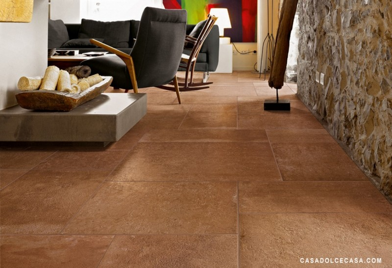 Terra carrelage gr s c rame pleine masse rectifi aspect for Carrelage aspect pierre