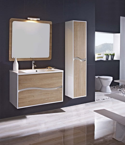 Meuble salle de bain design collection triana marque for Marque meuble design