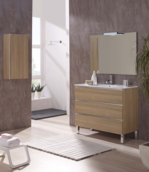 Meuble salle de bain design collection marbella promotion for Meubles salle de bain design