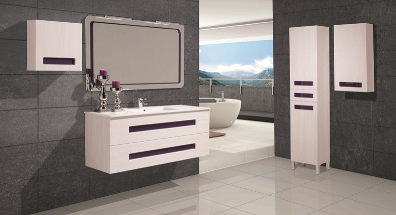 Meuble salle de bain design collection tripoli marque for Marque meuble design