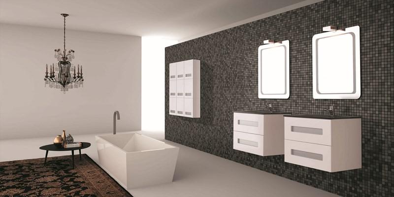Meuble salle de bain design collection tripoli marque for Marque meuble salle de bain