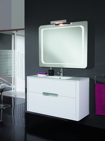 Meuble salle de bain design collection twist marque for Marque meuble design