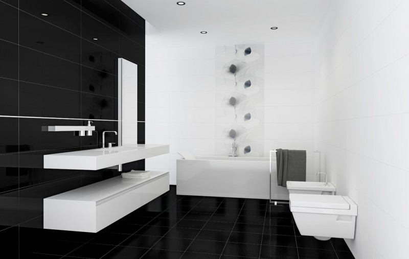Undefasa fa ences grand format brillantes ou mates prix for Grand carrelage salle de bain